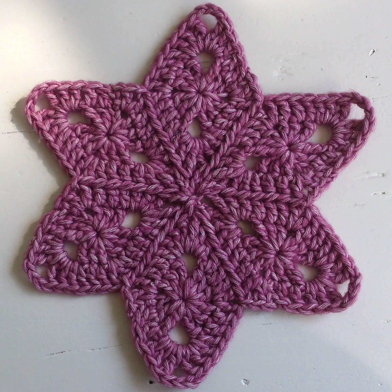 Atty\'s : Pattern/Photo Tutorial Star Blanket | Crochet | Pinterest ...