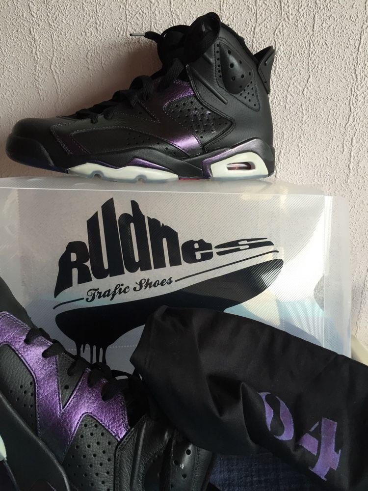 cheap for discount 890f8 36f9a Nike air Jordan 6 Rudnes custom. Seulement 10 paires ! Celle ci est la  numéro 4. Taille 9,5 us 43 neuves jamais portées. Boite custom avec sac  numéroté ...