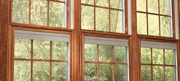 Three Wooden Pella Windows With Multiple Pre Finish Options The K C Company Pella Windows Doors Pella Windows Windows Doors Historic Homes