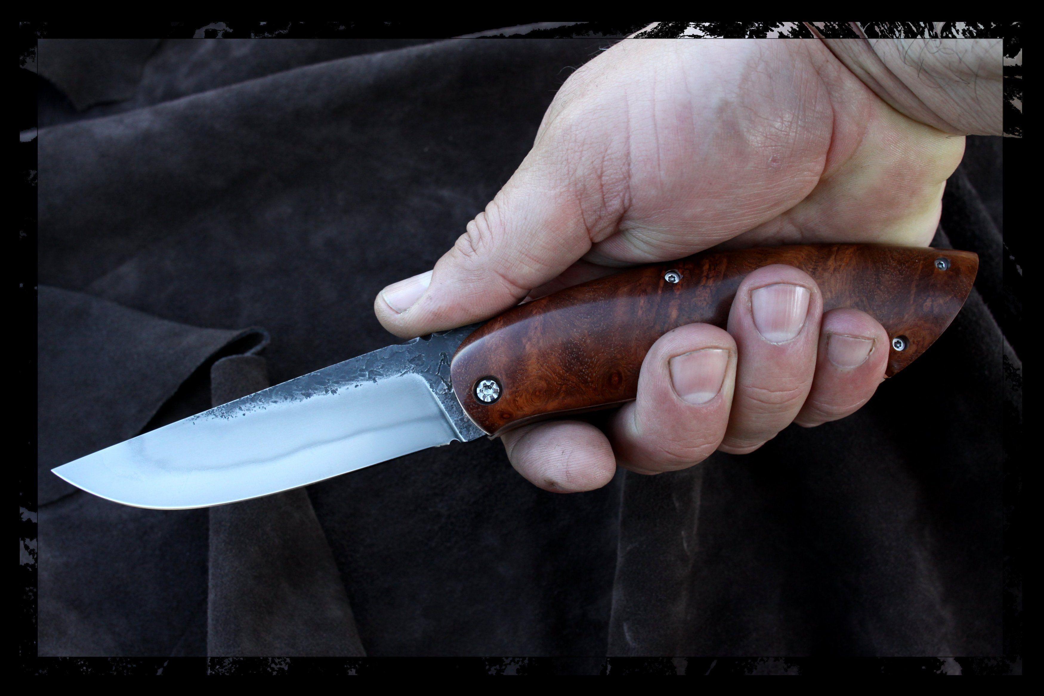Bruno Mace Trappeur Couteaux Artisanaux Couteau Couteaux Pliants