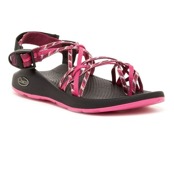 cbadf8fa27e6 Chaco ZX3 Yampa Loop Toe Sandal ( 70) ❤ liked on Polyvore featuring shoes