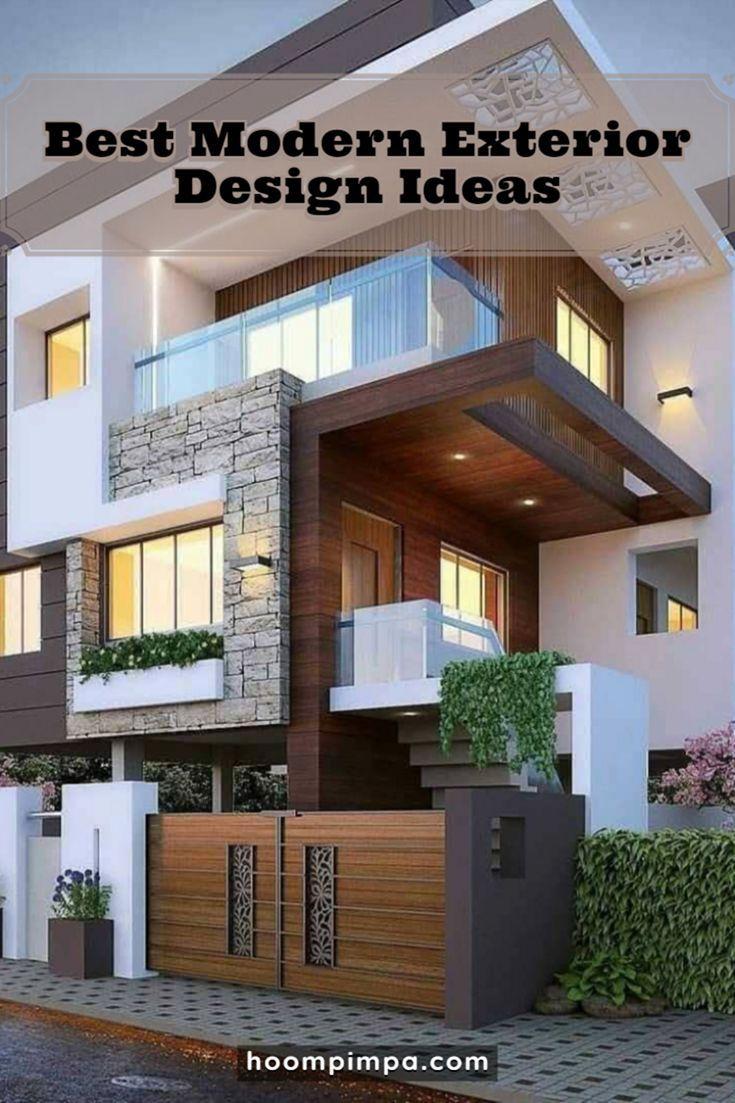 11 Best Modern Exterior Design Ideas Trend 2020 Modern Exterior House Designs Latest House Designs Duplex House Design