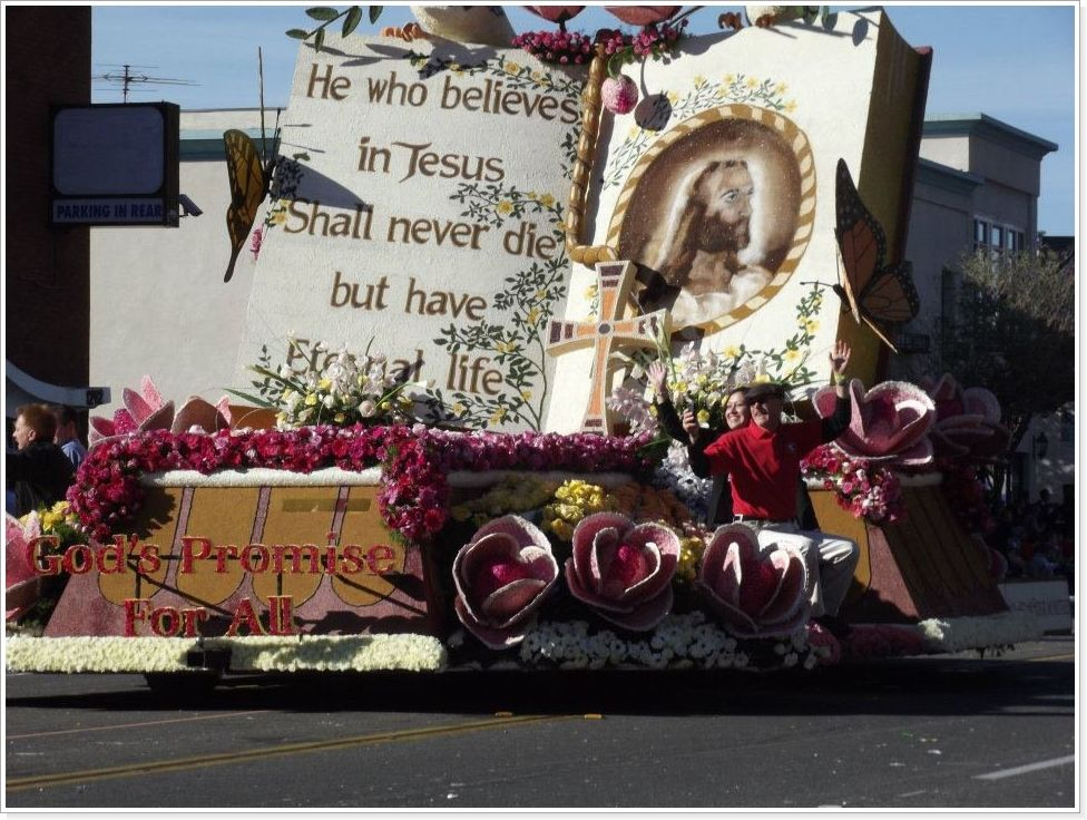 2020 Rose Parade, Float Decorating & Southern California