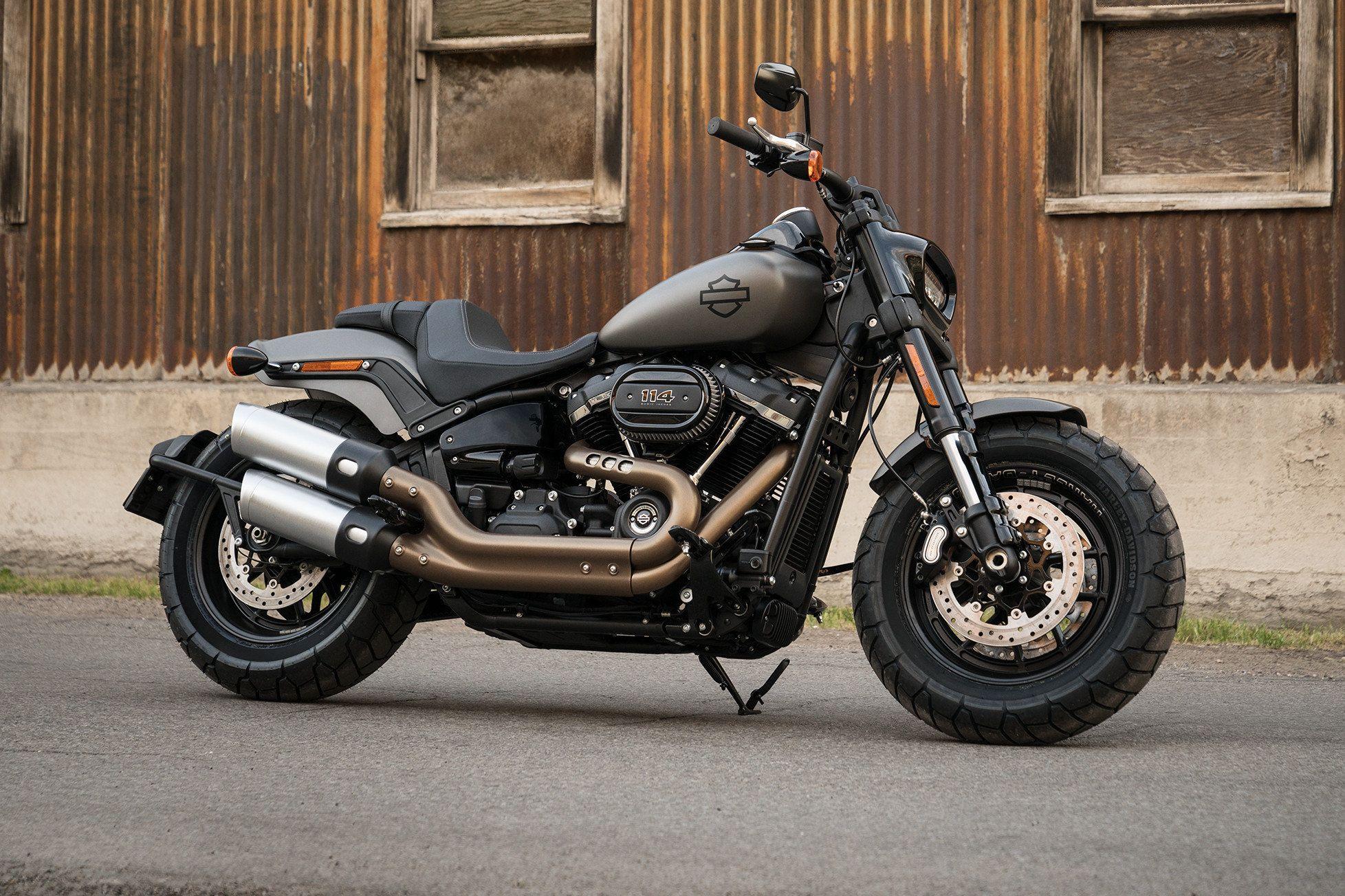 Pin On Harley Davidson Fat Bob 2018