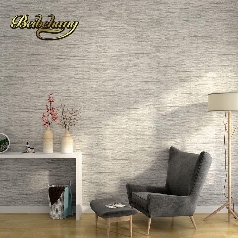 Bestpreis Beibehang minimalistische einfache feste Farbe grau - tapeten wohnzimmer grau