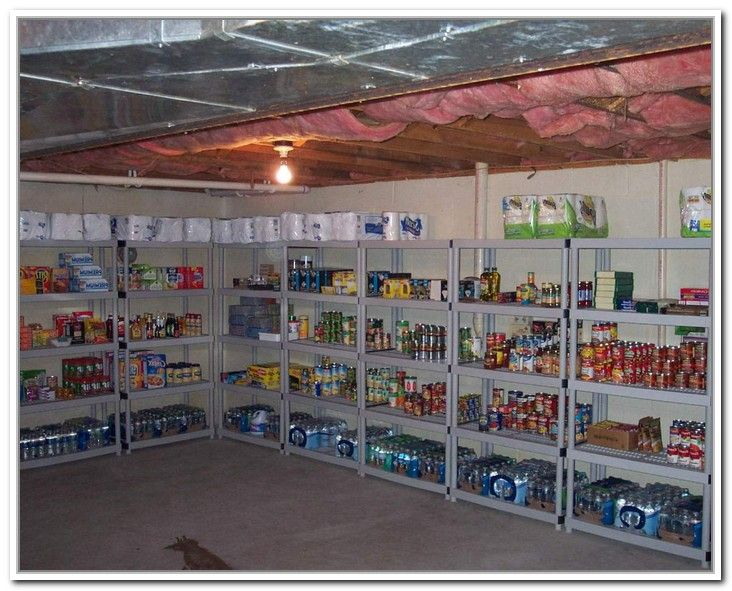 Basement food storage ideas google search organize for Basement storage ideas