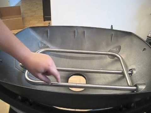 Weber Grill Q320 Aufbau - YouTube