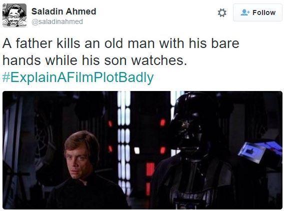 Explain A Film Plot Badly Explain A Film Plot Badly Movie Plot Star Wars Memes