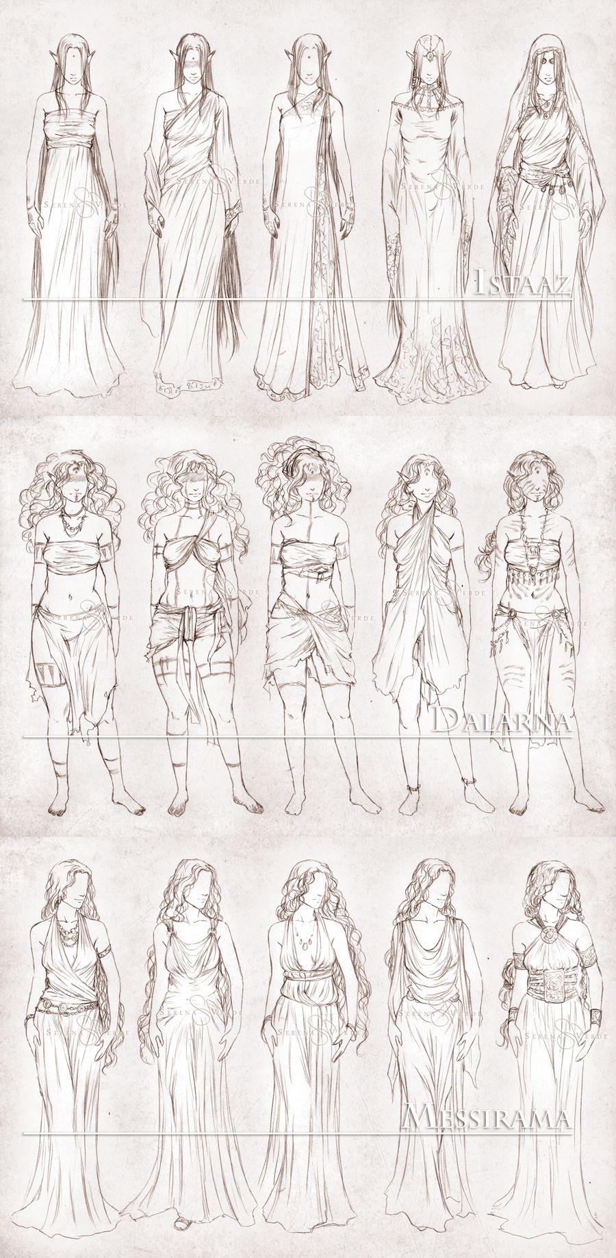 Inavesu Clothing The Girls By NadezhdaVasiledeviantart
