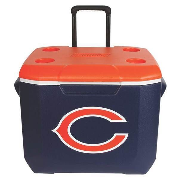 6caad0814e4 New Coleman NFL Chicago Bears Tailgate Performance Cooler 60 quart Chest  60qt