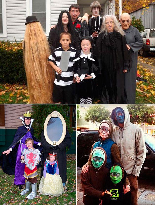 Disfraces para toda la familia en halloween the kings of - Disfraces en familia ...