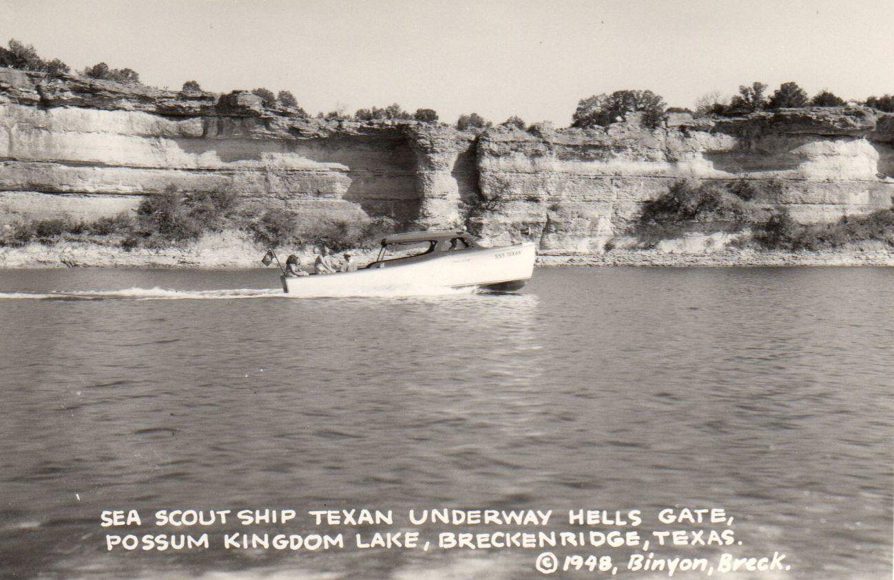 1948 Postcard - Possum Kingdom Lake, Texas | Possum ...