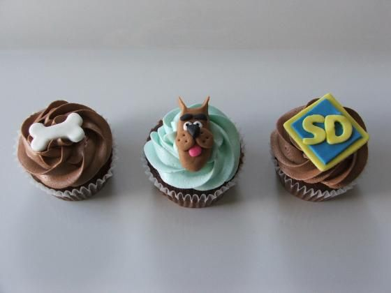 Quick Easy Cake Decoration : Quick & Easy Scooby doo, Fondant decorations and Fondant