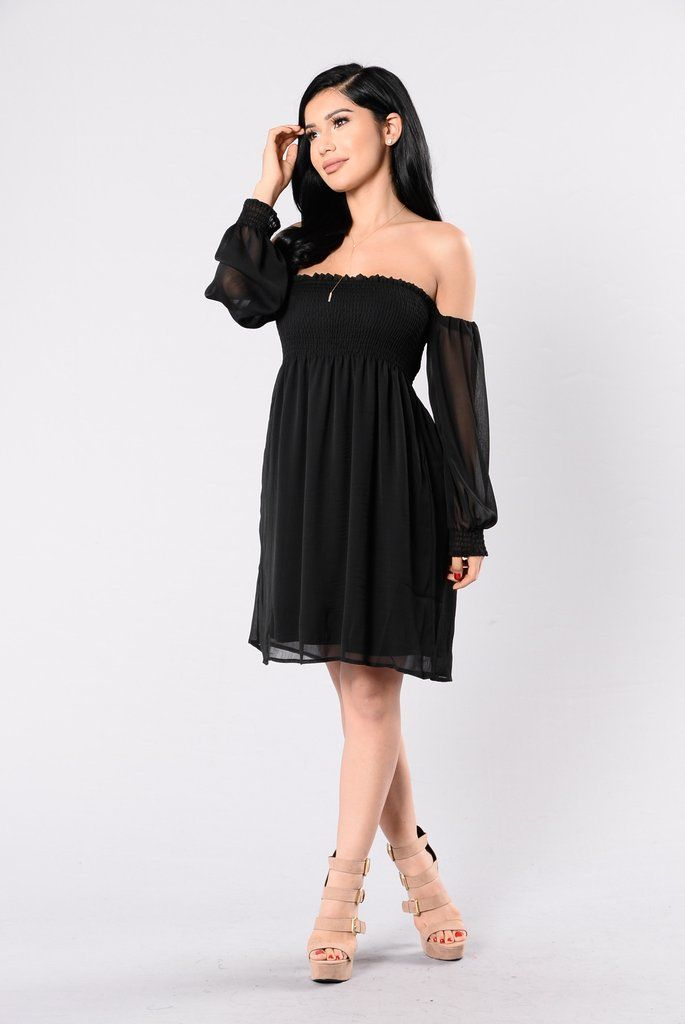 See You There Dress – Black