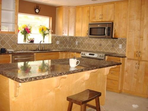 Kitchen Maple Cabinets Wood For In Damascus Oregon Clified