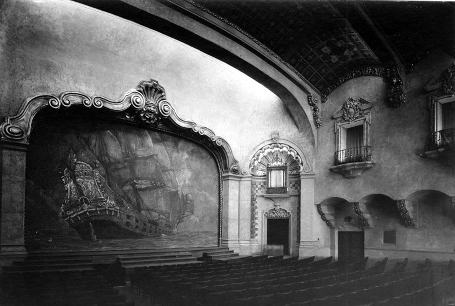 The Auditorium Of The Pasadena Playhouse 39 S El Molino Ave Pasadena Ca 91101 In 1930 Back