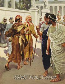 Paul and Barnabas among Greeks