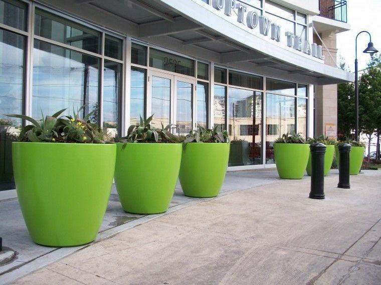 Jardineras inmensamente elegantes y funcionales Jardineras - jardineras modernas