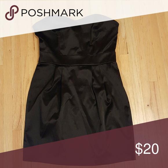 Dress Black Strapless Cocktail Dress Forever Unique Dresses Strapless