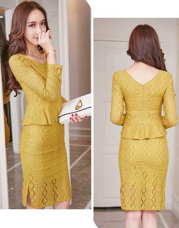 Model Rok Span : model, Setelan-rok-span-pendek-dan-atasan-brokat-cantik-37a23_5, Fashion,, Batik, Dress,, Model, Dress