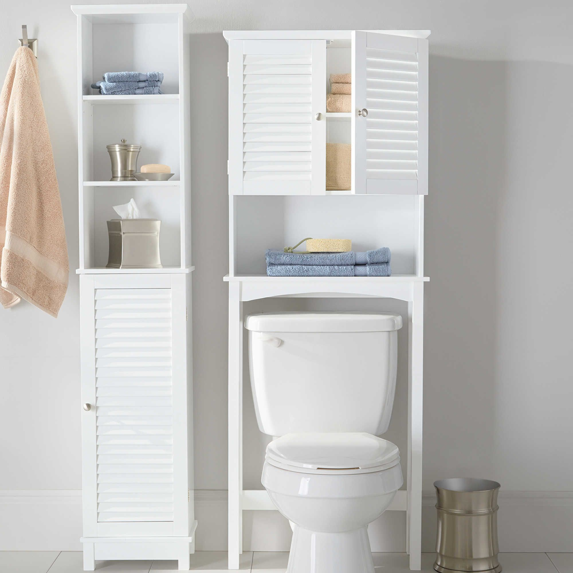 Summit Over The Toilet Space Saver Tower Bed Bath Beyond Bath Furniture Small Bathroom Small Bathroom Decor