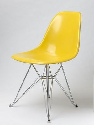 This Yellow Eames Chair. Yes.