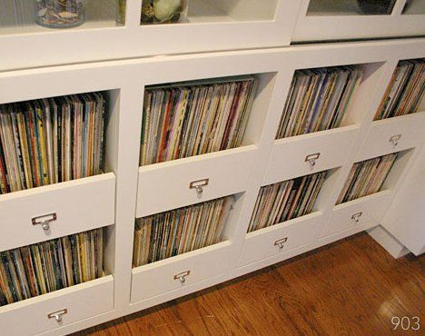 Amazing Storage Solutions For Vinyl Record Collectors