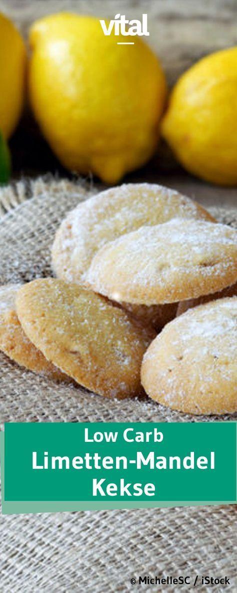 Basso contenuto di carboidrati: biscotti al lime e mandorle senza glutine