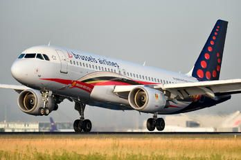 OO-SND - Brussels Airlines Airbus A320 (211 views)