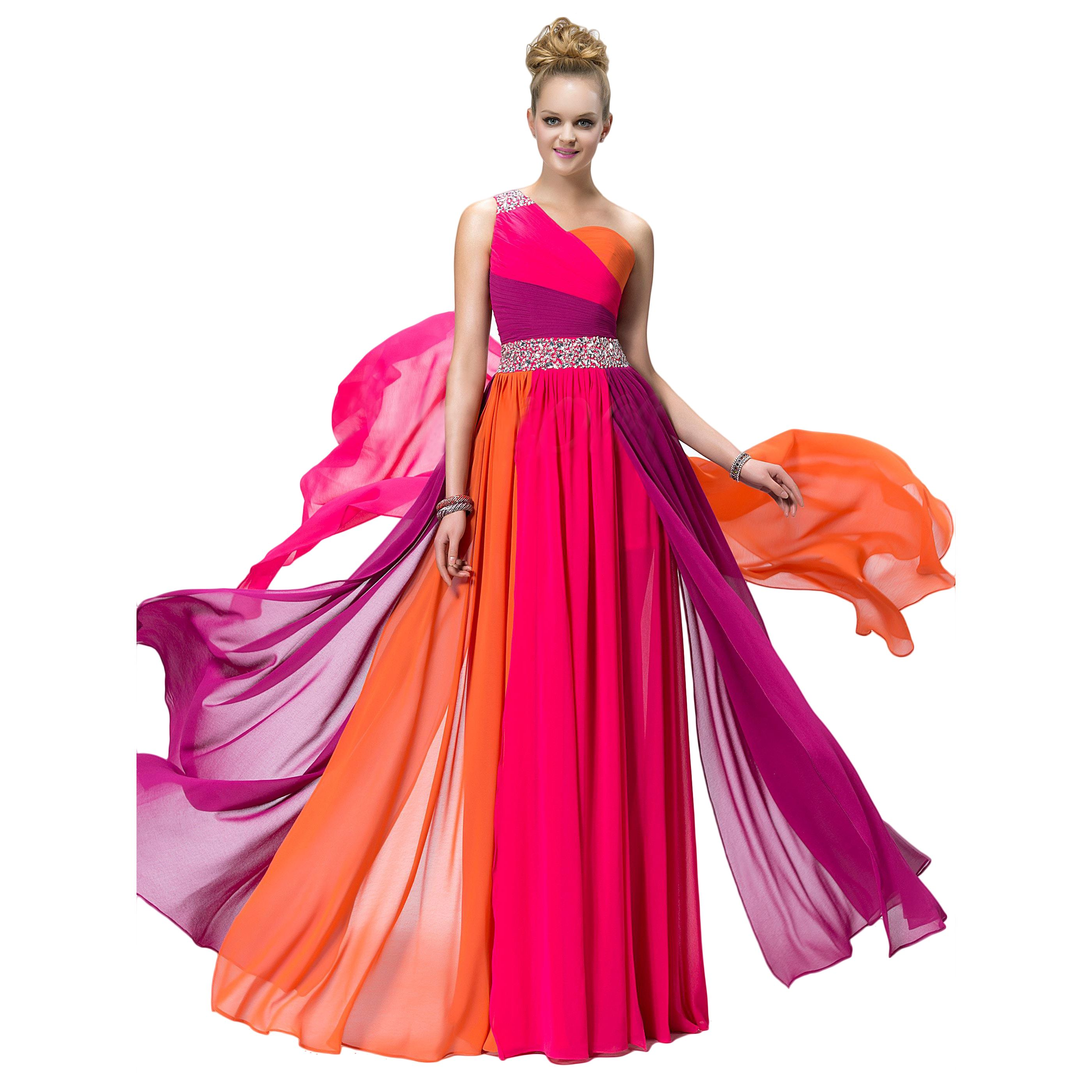 Vestido De Boda De Piesta De Chifon Rojo Largo - $ 3,291.30 | cosas ...