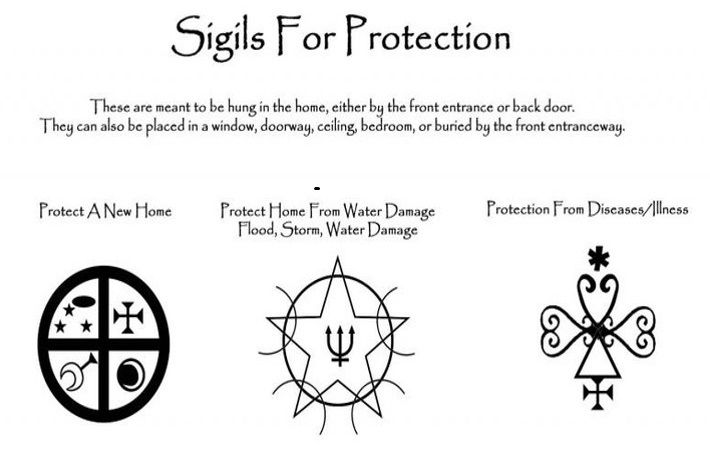 Pin by Ian Kirwan on Spells | Protection sigils, Protection