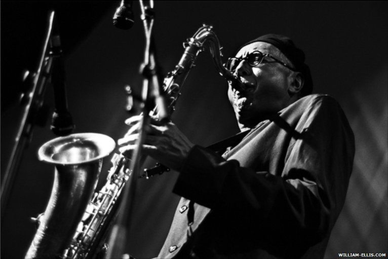Charles lloyd at brecon jazz 2000 photo by william ellis