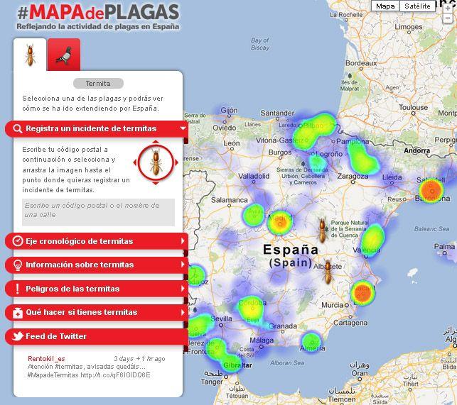 Lanzamos Nuestro Mapa De Plagas Quieres Saber Los Puntos Mas