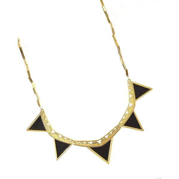 House of Harlow Triangle Armor Necklace