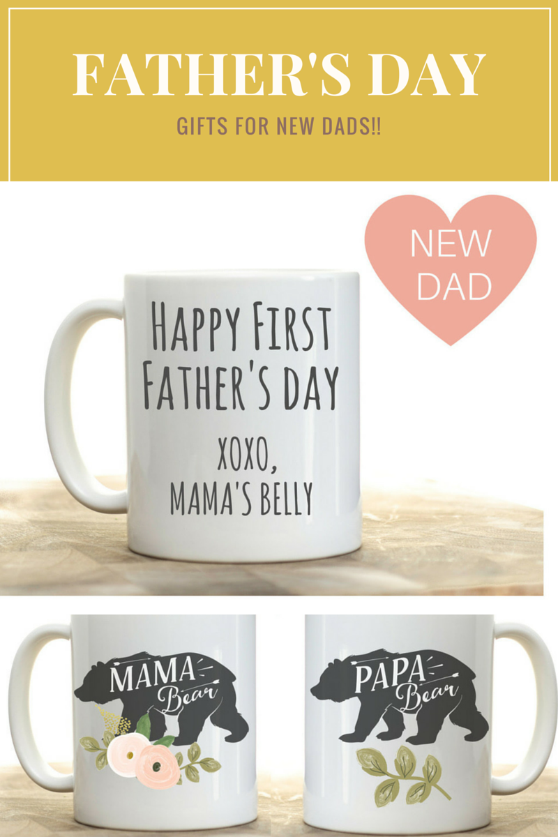 Father's Day gift for first time dad, new dad Father's Day gift ...