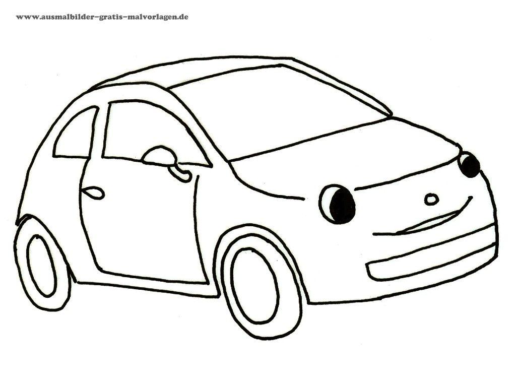 Auto Ausmalbilder Ausmalbildkostenlos Com Pinterest