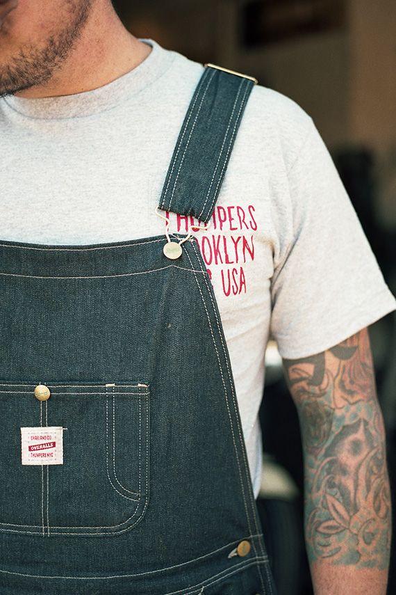 Thumper's x Chari & Co. x Pointer Brand - Cone Mills Denim Overall