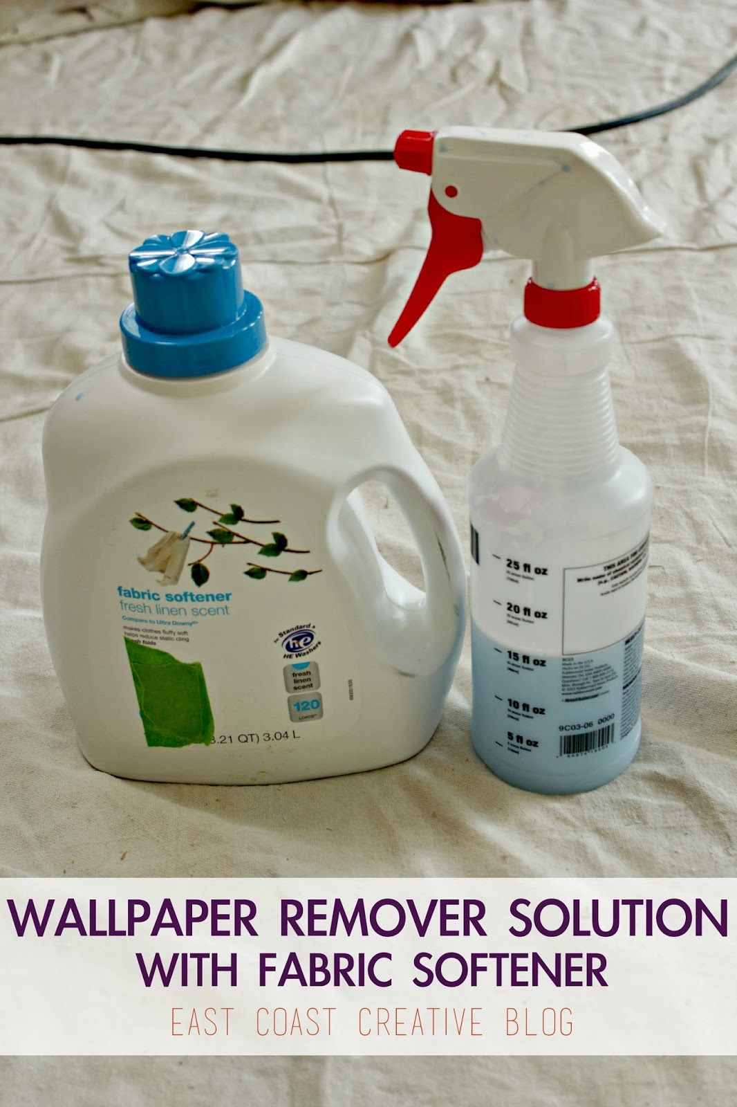 How To Remove Wallpaper The Easy Way Cleaning Cleaning Hacks Removable Wallpaper
