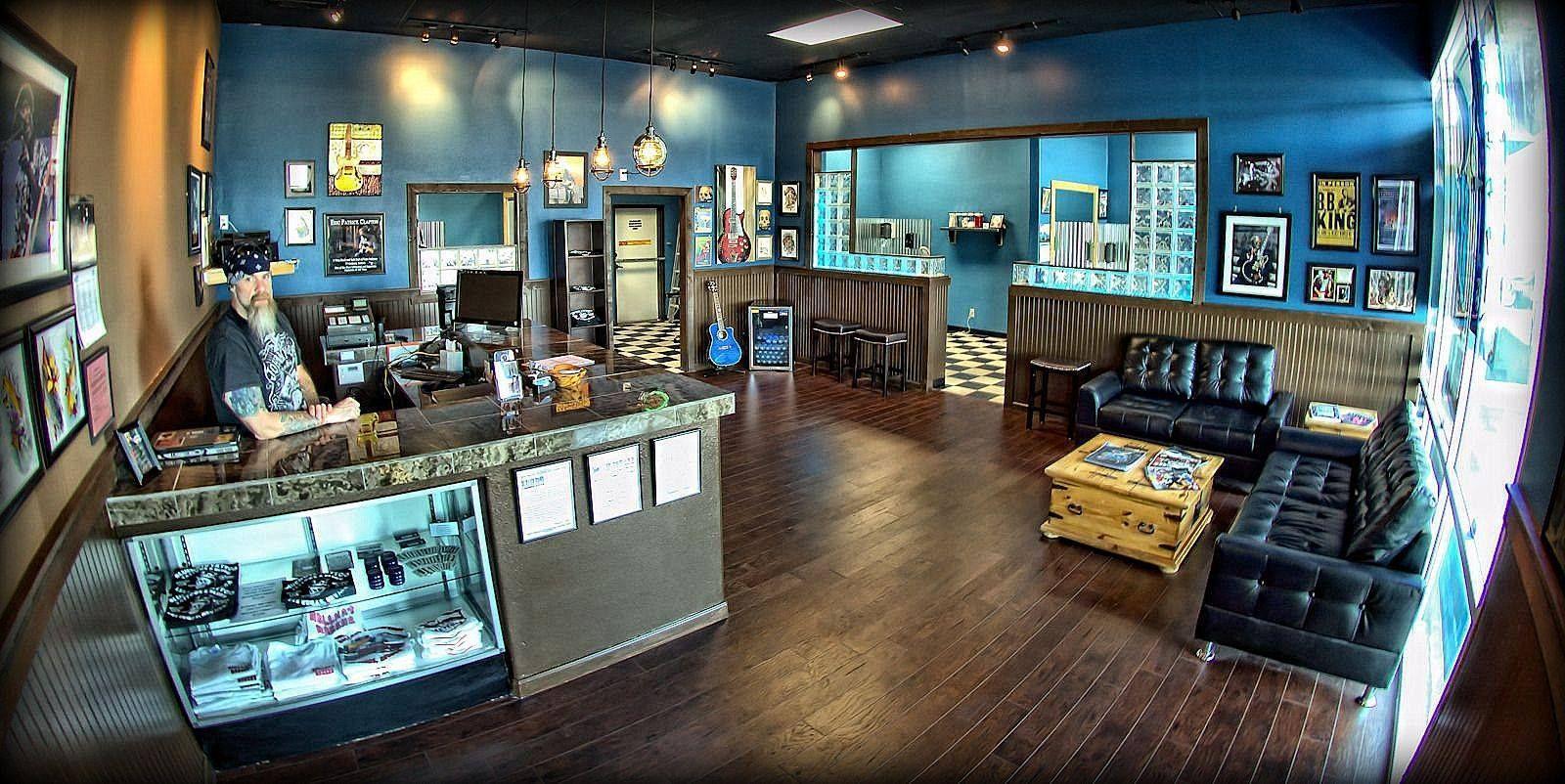 Bluenote tattoo las vegas nv shop layout tattoo las