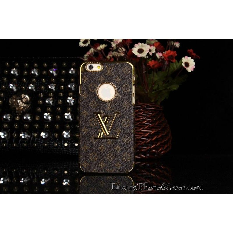 256532b14d81 Luxury Real Louis Vuitton iPhone 6   6 Plus Leather Wallet Cases - Replica  Price