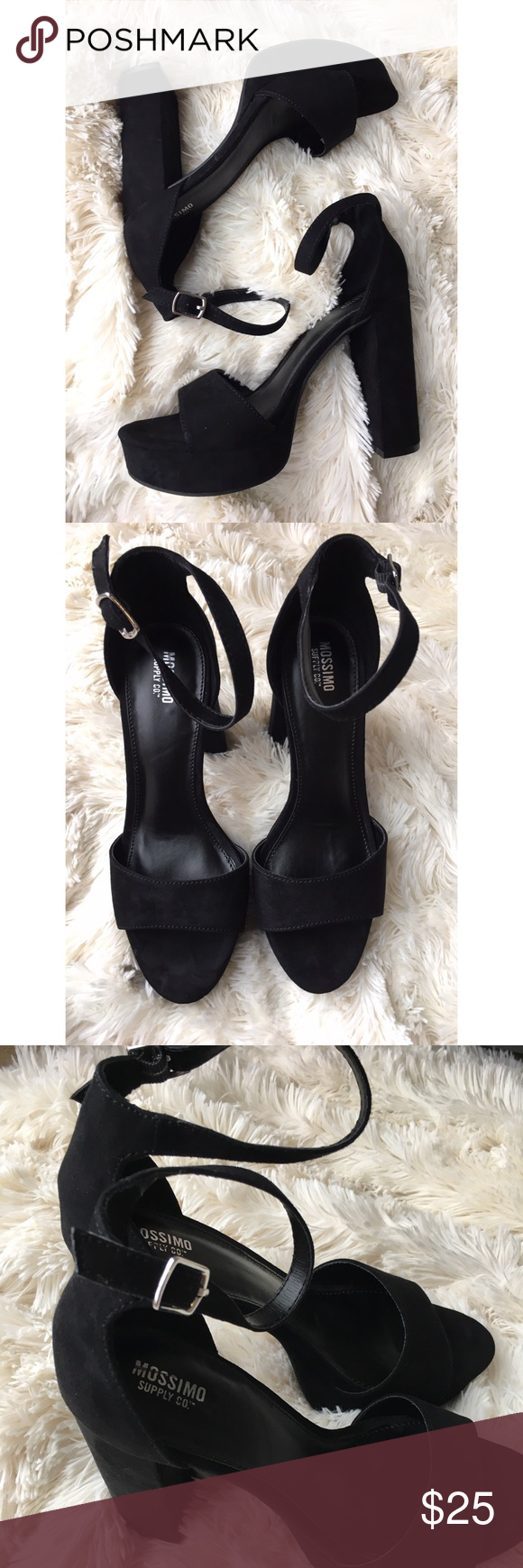 659ec05e20 Mossimo Fabiola Black Platform Heels NWOT Get into the groove in these  fabulous '70s-inspired Mossimo Supply Co. Women's Fabiola Platform Heels.
