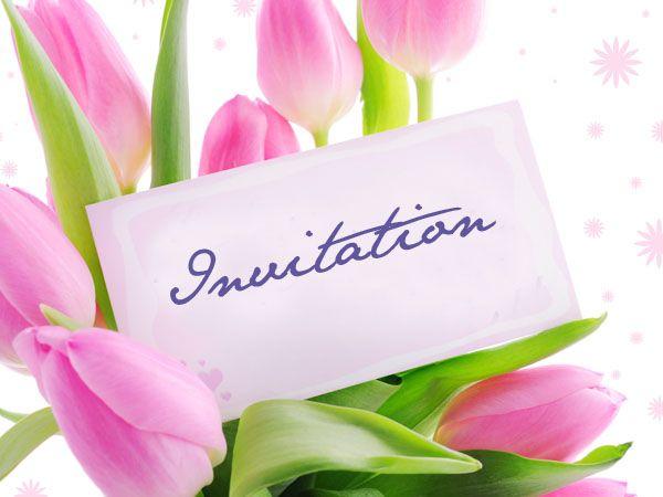 Besoin d 39 un coup de pouce pour organiser votre anniversaire retrouvez cette invitation fleurie - Envoyer 100 sms d un coup ...