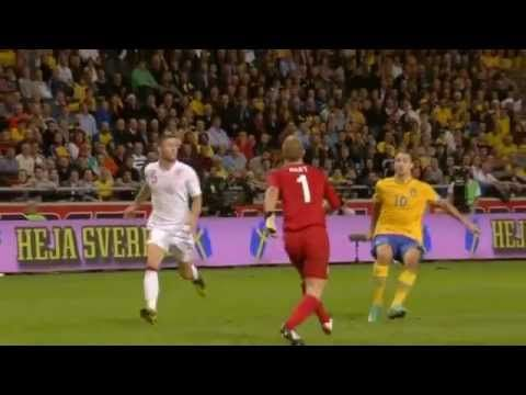 Sweden Vs England 4 2 Zlatan Ibrahimovic Unbelievable Bicycle Goal