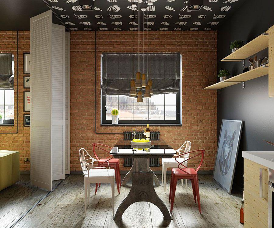 Come Arredare Una Sala Da Pranzo In Stile Industriale Mondodesign It Design Della Sala Da Pranzo Colori Della Sala Da Pranzo Sale Da Pranzo Moderne