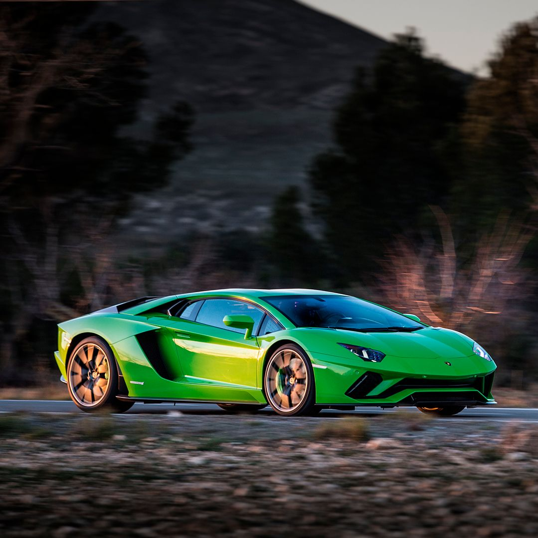 Zipping Through The Air Like Light: It's Aventador S With