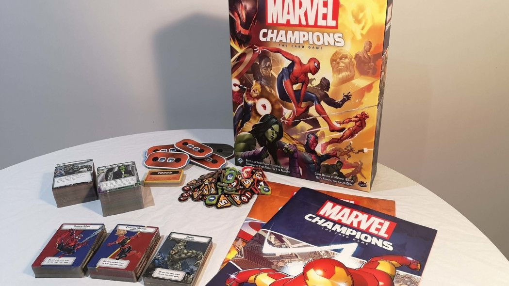 10++ Marvel champions card game review info