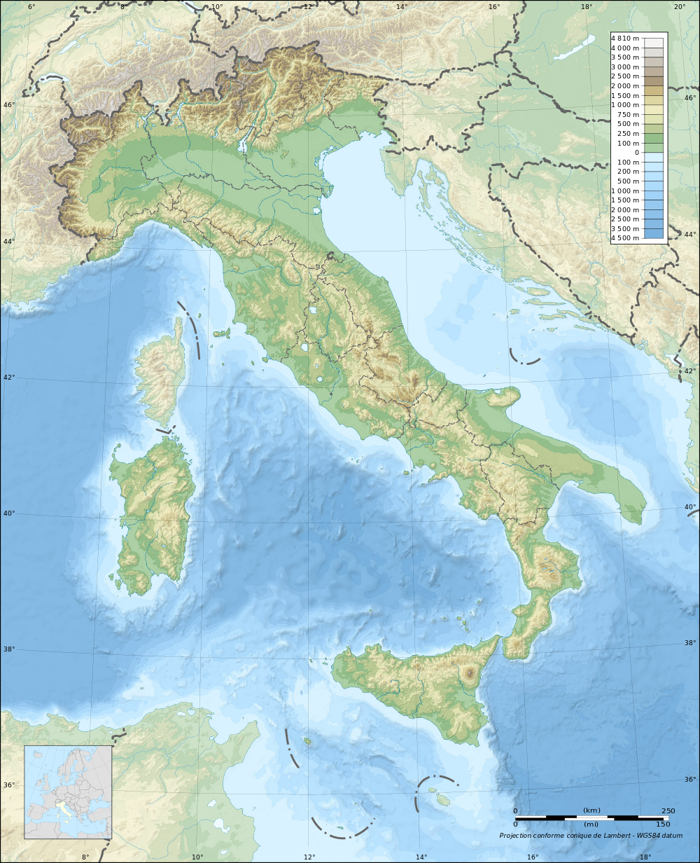 Topographic Map Of Rome.Topographic Map Of Italy Italy Italy Italia Italy Map