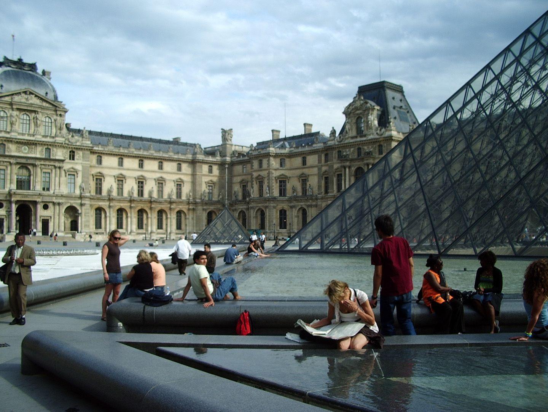 Pei's masterwork at the Louvre