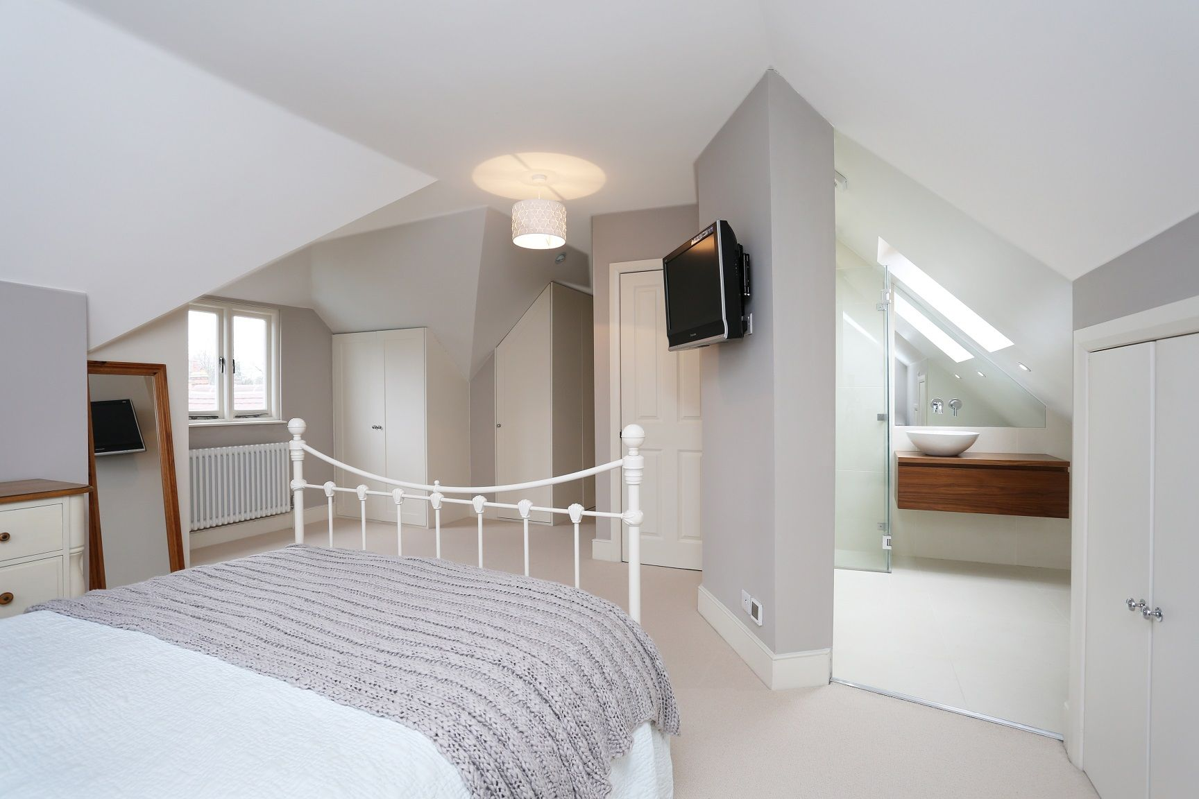 Master Bedroom Loft the owners of this house in elmbridge kt7 wanted to expand upwards