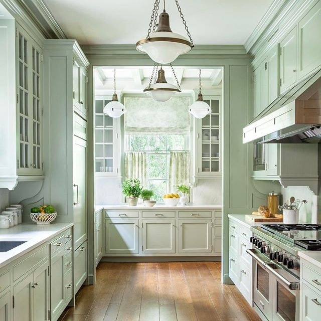 This Kitchen Was A Wonderful Collaboration With Architects, Ferguson U0026  Shamamian. The Color, Layout, Cabinetry And Details Down To The Café  Curtains Make It ...